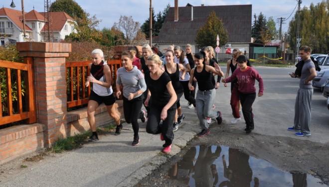 Versenytánc válogatott edzés és állapotfelmérés