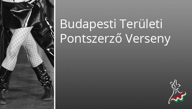 Budapesti Területi EREDMÉNYEK
