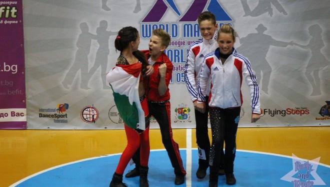 Éremeső a bulgáriai Világkupán