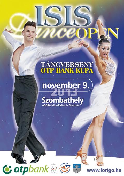 ISIS Dance Open versenyplakát