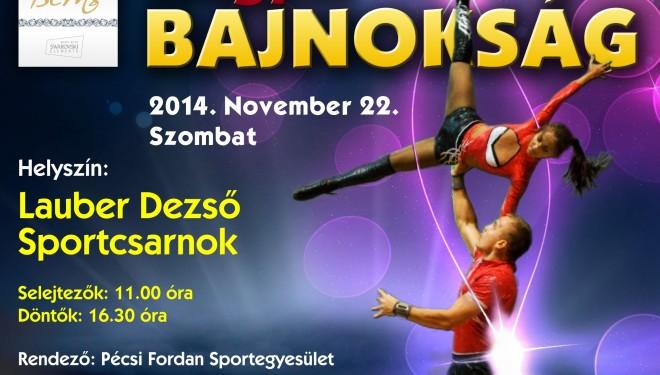 Akrobatikus rock'n'roll magyar bajnokság Pécsen