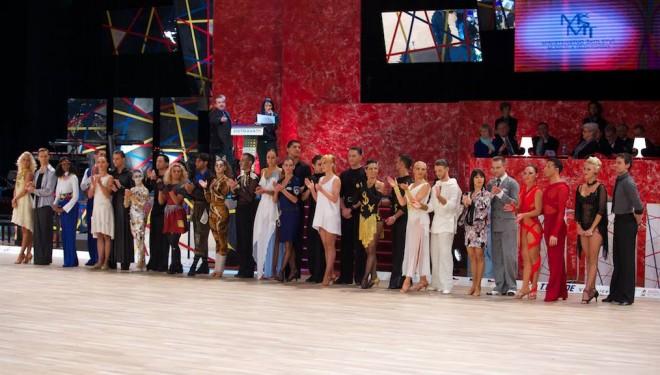 9. hely a profi Latin Kűr világbajnokságon