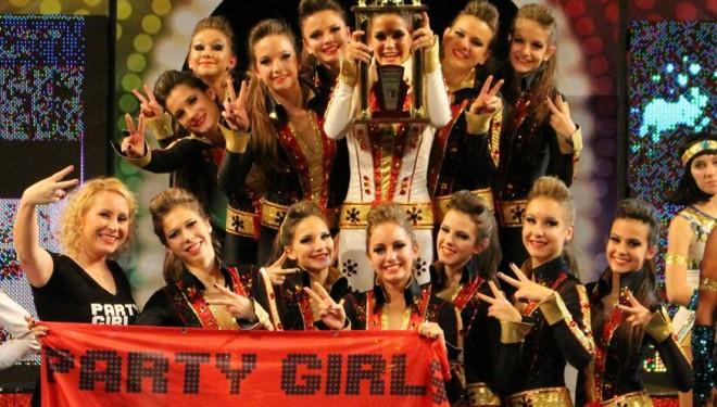 Világkupát nyert a Party girls