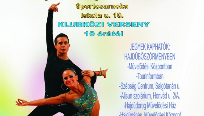 Felnőtt -Ifjúsági Latin, Junior Standard, Senior Latin Ranglista és Klubközi Táncverseny