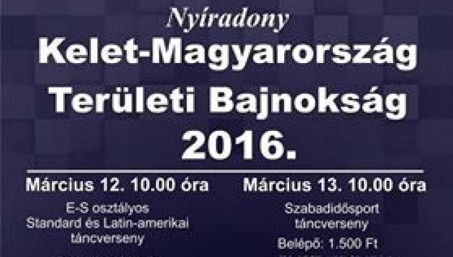 Kelet-Magyarország Szabadidősport Területi Bajnokság