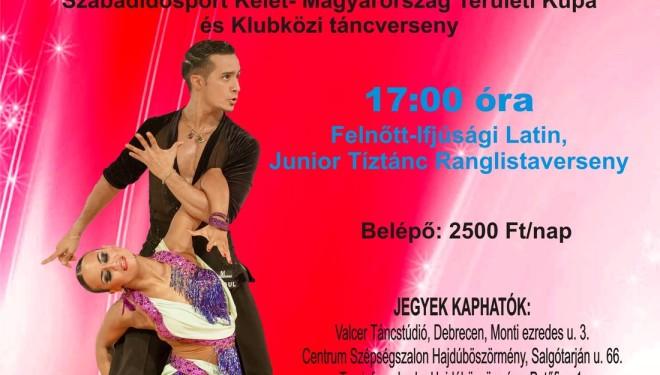 Felnőtt-Ifjúsági Latin, Junior Tíztánc Ranglista , Professzionista Standard Ranglista és klubközi verseny