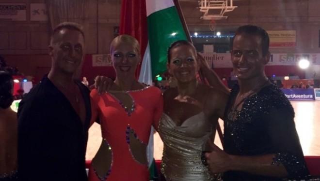 13. hely a Senior I. Latin világbajnokságon