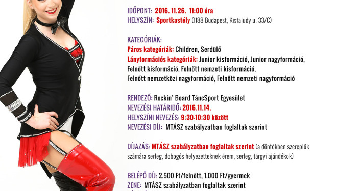Akrobatikus Rock and Roll Magyar Bajnokság