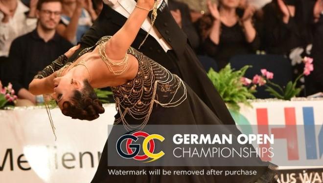 Érmek a German Openen