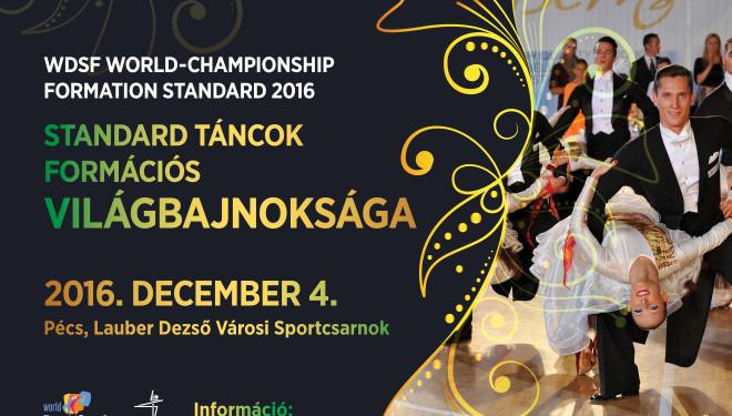 Jegyvásárlás a Standard Táncok Formációs Világbajnokságára
