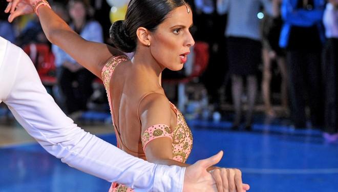 Latin női táncruha