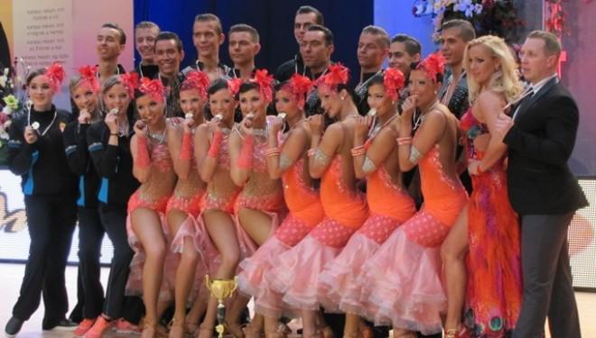 14. hely a Latin táncok Formációs világbajnokságán