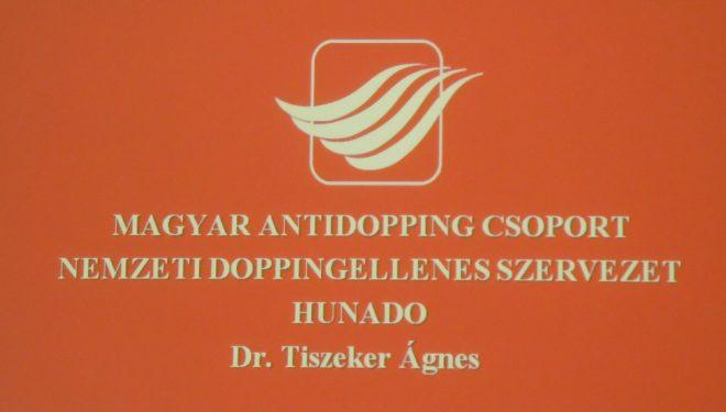 Doppingellenőrzési ismeretek szakmai képzés