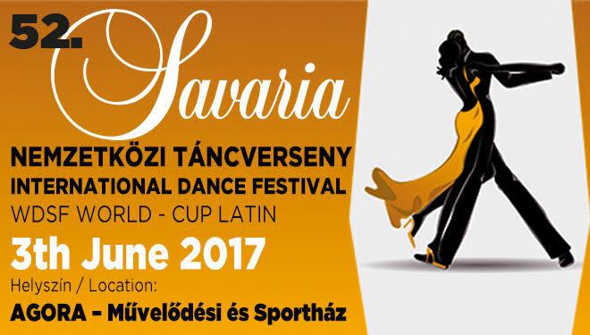 52. Savaria Nemzetközi Táncverseny és WDSF Latin Világ Kupa