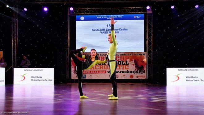 Akrobatikus rock'n'roll: két világkupa ezüstérem Krakkóban