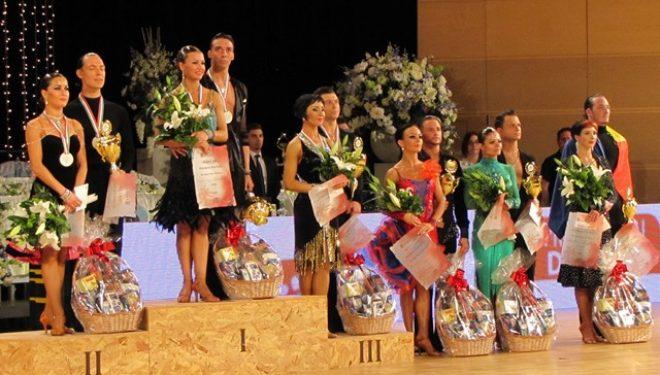 4. hely a Profi Latin Európa-kupán