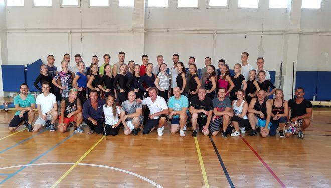 Lezajlottak a nyári akrobatikus RnR válogatott keret edzések és sportszakember képzések