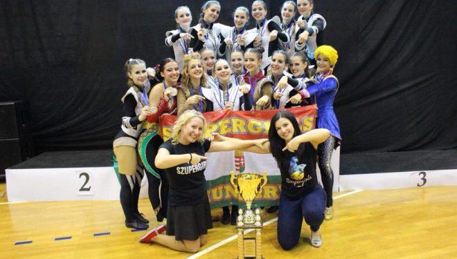 Kettős magyar győzelem a Női Nagyformációs Európa-bajnokságon
