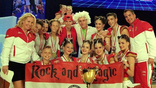 Európa-bajnoki cím Junior Páros Formációban