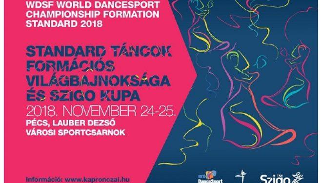 SZIGO Kupa Felnőtt-Ifjúsági Latin, Junior Tíztánc, Senior Latin Ranglistaverseny