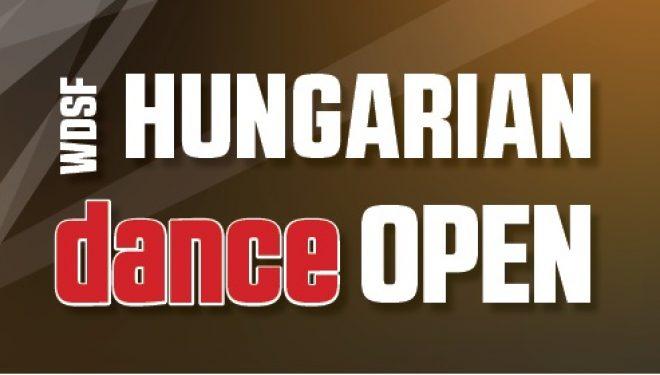 WDSF Hungarian Dance Open 2019