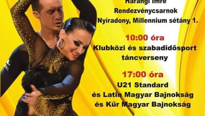 U21 Standard és Latin, Kűr Magyar Bajnokság, klubközi verseny