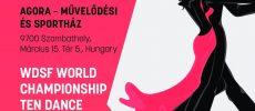 54. Savaria Nemzetközi Táncverseny és WDSF Senior I Tíztánc világbajnokság