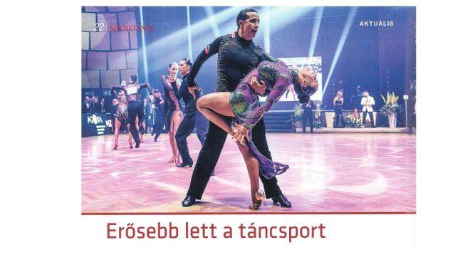 Sportime magazin – táncsport